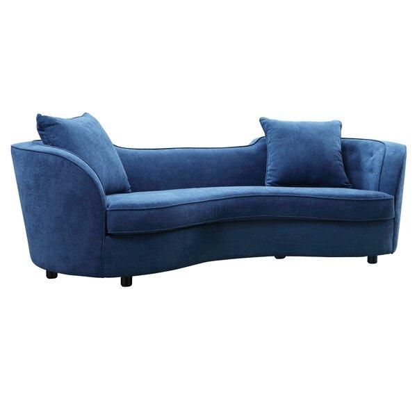 Kizer Contemporary Sofa by Everly Quinn