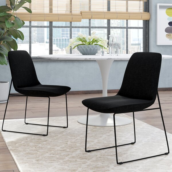 Atwell Upholstered Side Chair (Set of 2) by Mercury Row