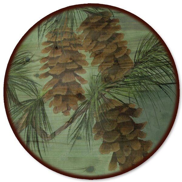 Pine Cone New Lazy Susan by WGI-GALLERY