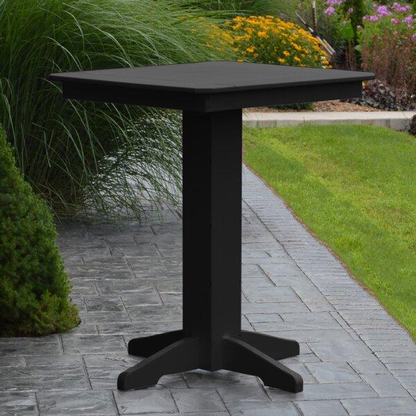Nettie Plastic/Resin Bar Table by Red Barrel Studio