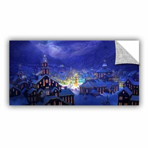 Christmas Town by Philip Straub Graphic Art by ArtWall