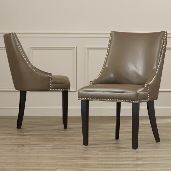 Asuncion Upholstered Dining Chair (Set of 2) by House of Hampton