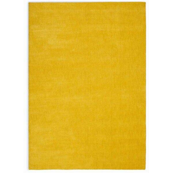 LA Hand-Woven Yellow Area Rug by Calvin Klein