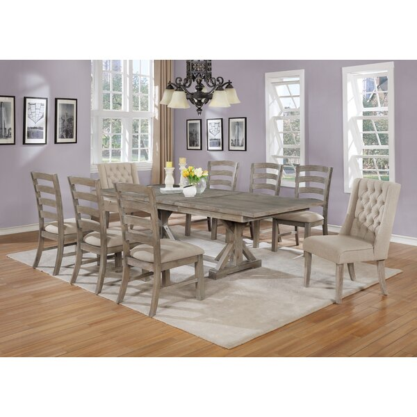 Trixie 9 Piece Dining Set by One Allium Way