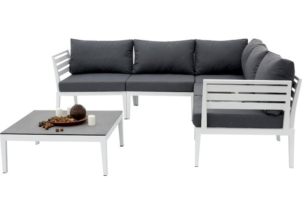 Paolini 6 Piece Sectional Set with Cushions by Wrought Studio