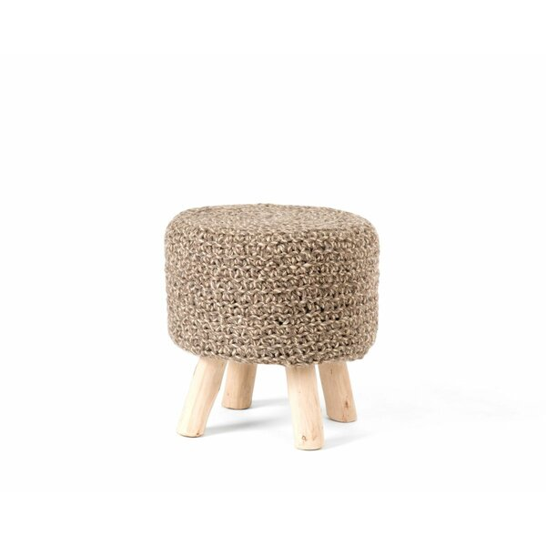 Goldstein Accent Stool by Bungalow Rose