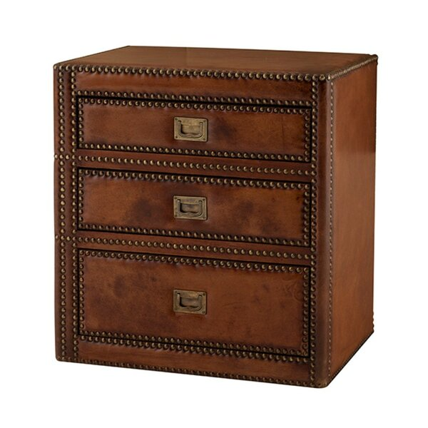 Marriot 3 Drawer Nightstand by Eichholtz