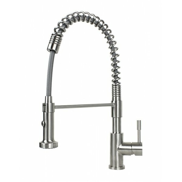 Tulip Pull Out Single Handle Kitchen Faucet by eModern Decor