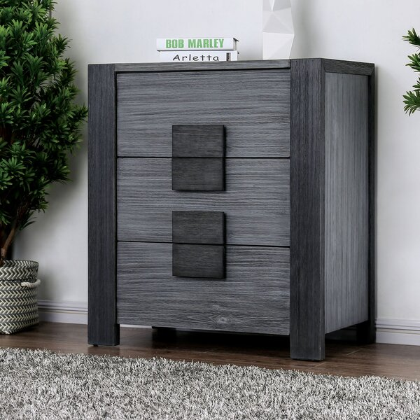 Beaupre 3 Drawer Nightstand By Ivy Bronx