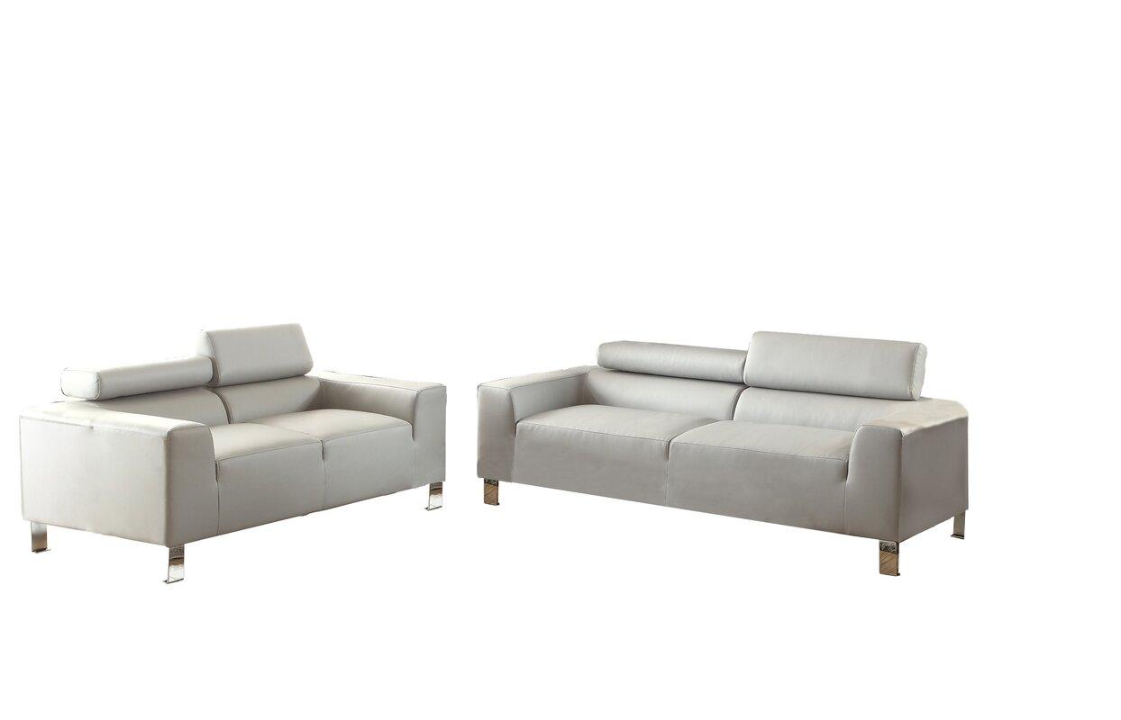 Montvale 2 Piece Living Room Set & Reviews   AllModern