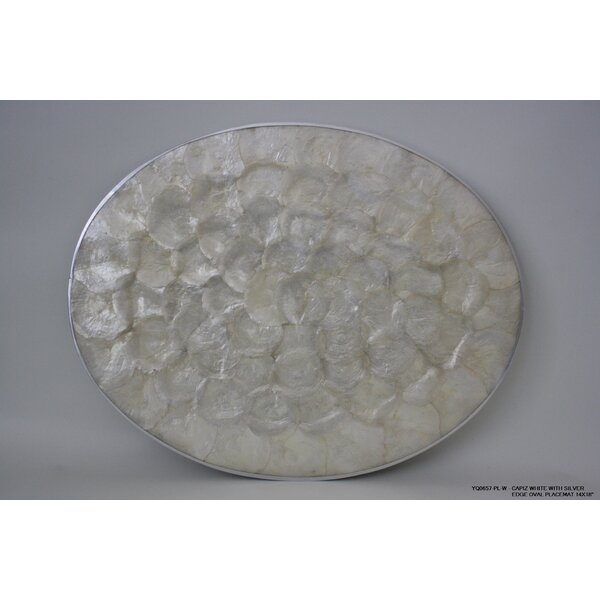 Willington Silver Edge Placemat (Set of 4) by Highland Dunes