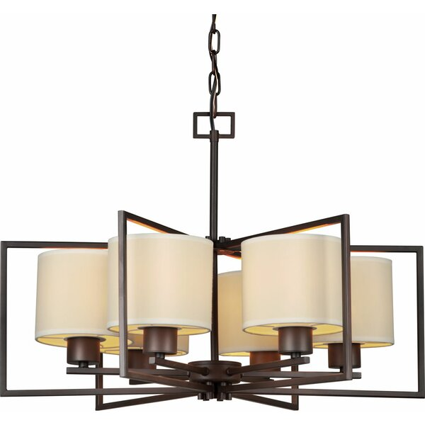 Mcphee 6-Light Shaded Classic / Traditional Chandelier by Ebern Designs Ebern Designs