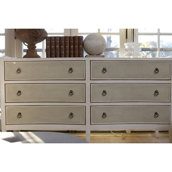 Naomi 6 Drawer Double Dresser by Gabby
