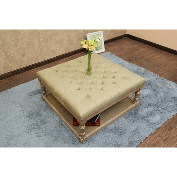 Macsen Tufted Cocktail Ottoman by Ophelia & Co.