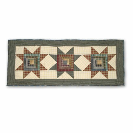 Cottage Star Table Runner by Patch Magic