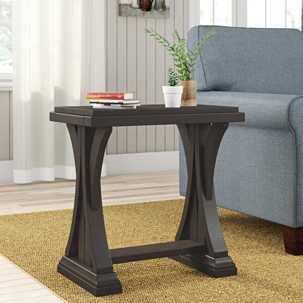 Aisling End Table by Gracie Oaks
