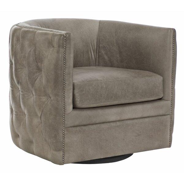 Palazzo Swivel Barrel Chair by Bernhardt