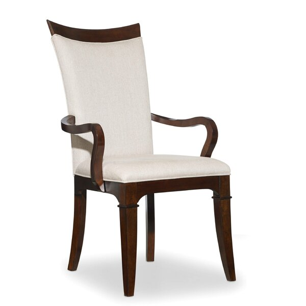 Palisade Upholstered Dining Chair (Set of 2) by Hooker Furniture