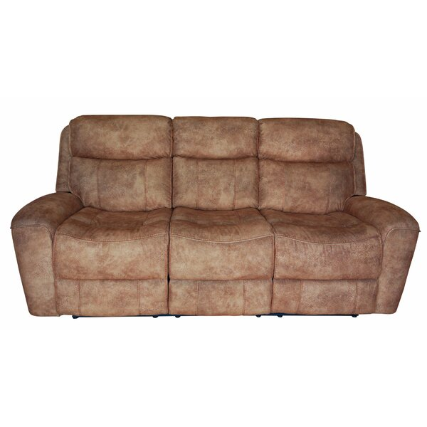 Zechariah Reclining Sofa by Red Barrel Studio