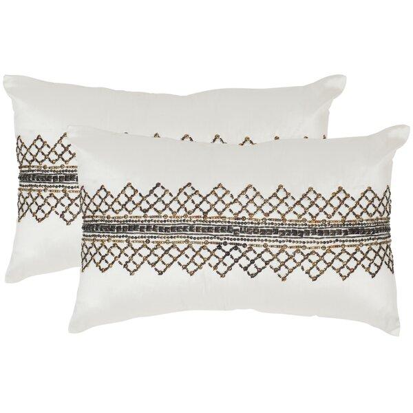 Gossamer Throw Pillow (Set of 2) by Safavieh