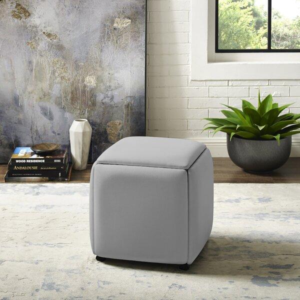 Cauldwell Convertible Cube Ottoman by Ivy Bronx Ivy Bronx