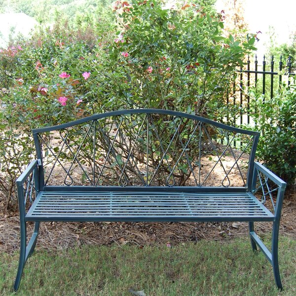Mimosa Steel Garden Bench by Griffith Creek Designs