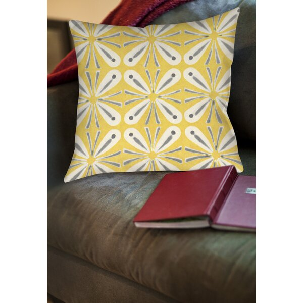 Salzman 1 Printed Throw Pillow by Latitude Run