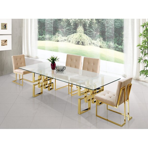 Robey 5 Piece Dining Set by Willa Arlo Interiors