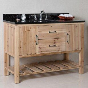 Deals 48 Single Bathroom Vanity Set ByBellaterra Home
