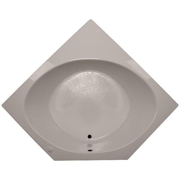 60 x 60 Corner Air Tub by American Acrylic