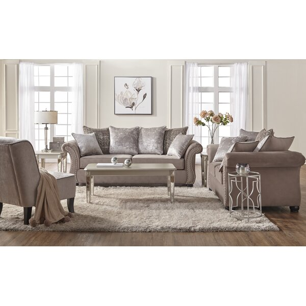 Agnes 2 Piece Living Room Set by Alcott Hill