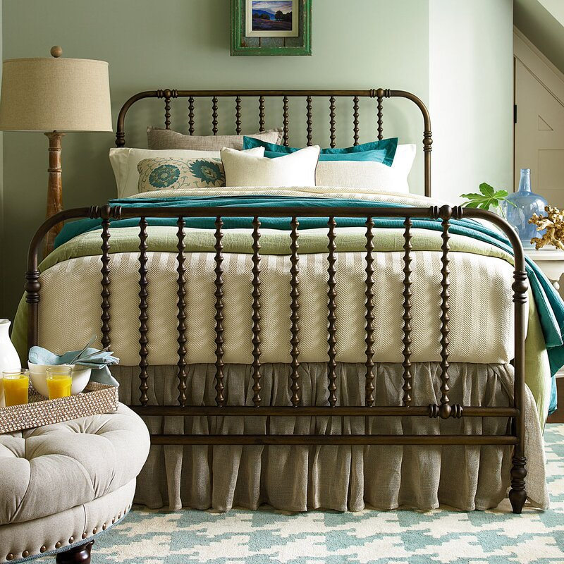 River House Panel Bed