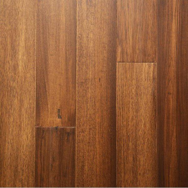5 Engineered Bamboo Flooring in Burnished Saddle by Islander Flooring