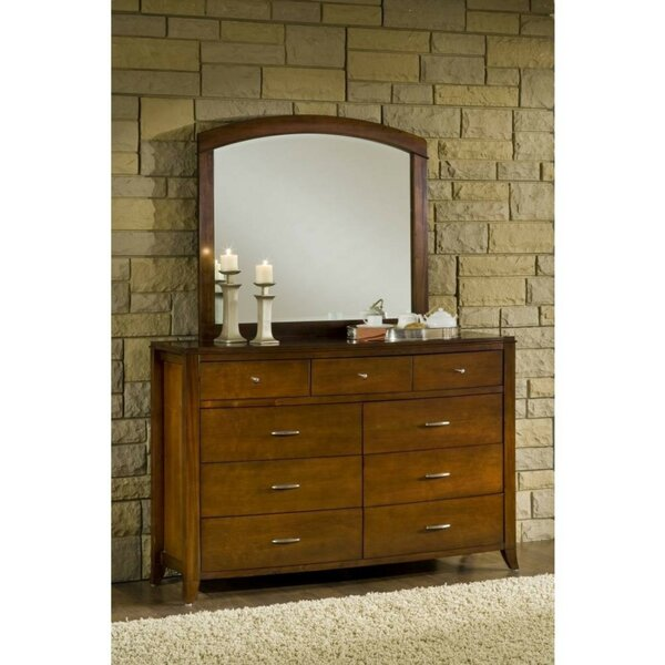 Rosas Wooden 9 Drawer Double Dresser by Canora Grey