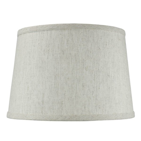 12 W Linen Drum Lamp Shade ( Uno )