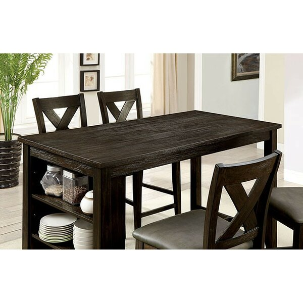 Keana 5 Piece Counter Height Dining Set by Gracie Oaks