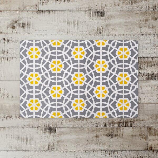 Clement Hexagon Tile Kitchen Mat