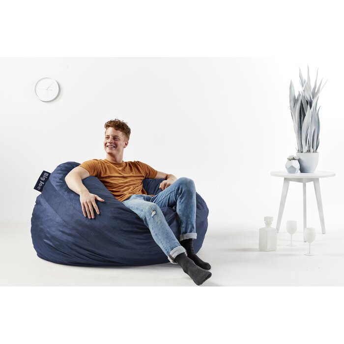 Awesome Fuf Large Bean Bag Chair Beatyapartments Chair Design Images Beatyapartmentscom