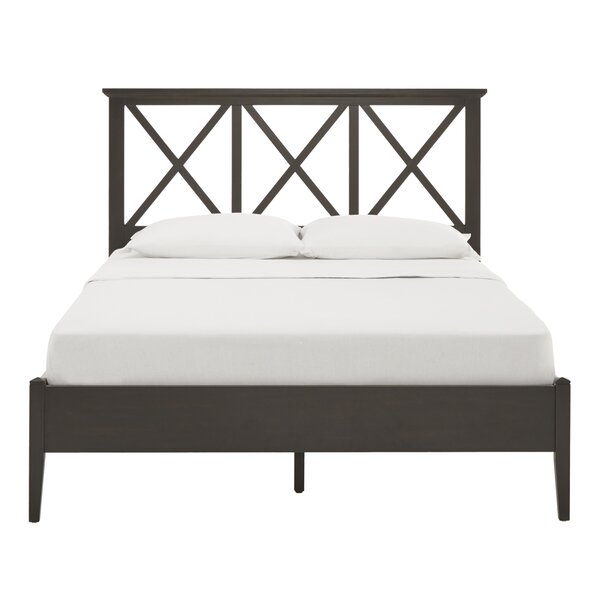 Queen Coster Lattice Platform Bed by Charlton Home