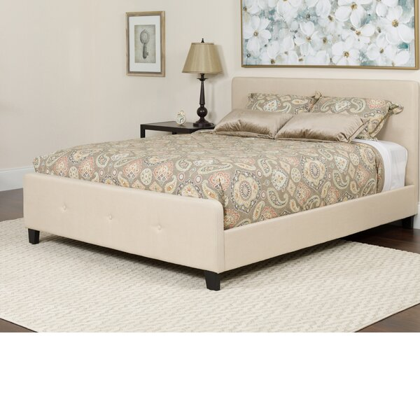 Konen Tufted Upholstered Platform Bed by Alcott Hill