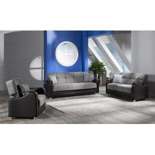 Raquette 2 Piece Sleeper Living Room Set by Orren Ellis