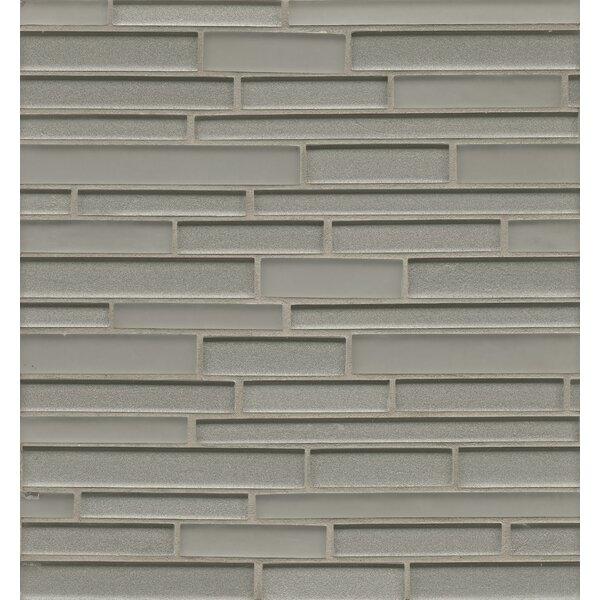 Remy Glass 12 x 13 Mosaic Random Interlocking in Silver by Grayson Martin