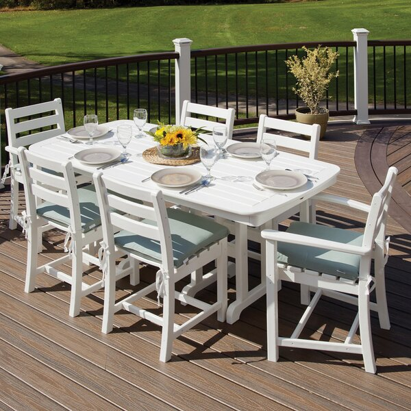 Monterey Bay 7 Piece Dining Set by Trex Outdoor