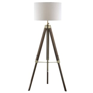 Twisted wooden floor lamp wayfair save to idea board aloadofball Image collections