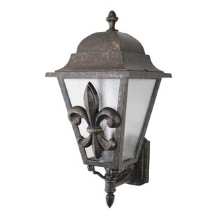 Best Price Penfield 3-Light Outdoor Sconce By Alcott Hill