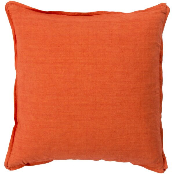 Orson Linen Pillow Cover by Red Barrel Studio