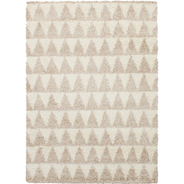 Linden Boulevard Cream/Tan Area Rug by Union Rustic