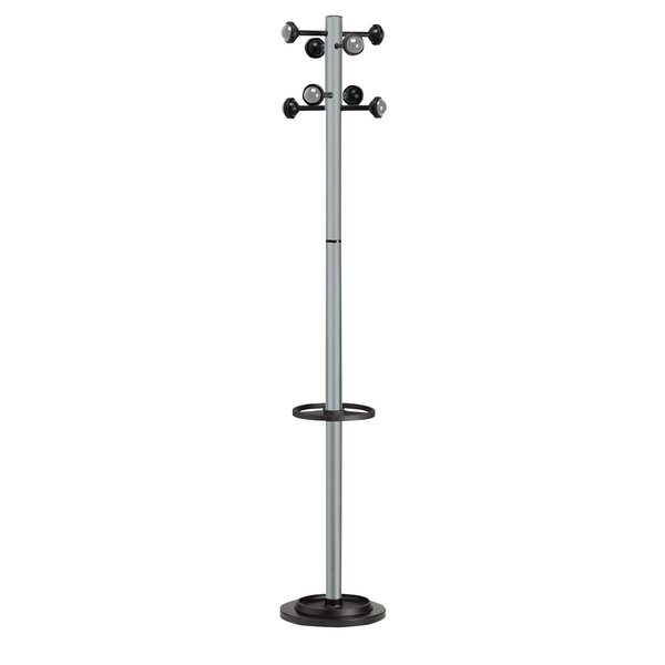 Kos Lighting Accueil Coat Stand with 8 Pegs by Paperflow