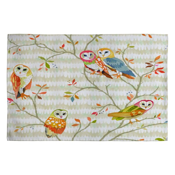 Betsy Olmsted Owl Tree 2 Novelty Rug by Deny Designs