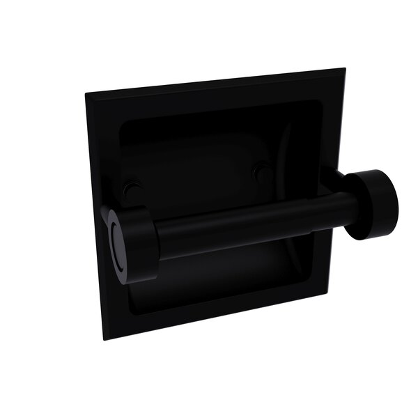 Continental Recessed Wall Mount Toilet Paper Holder